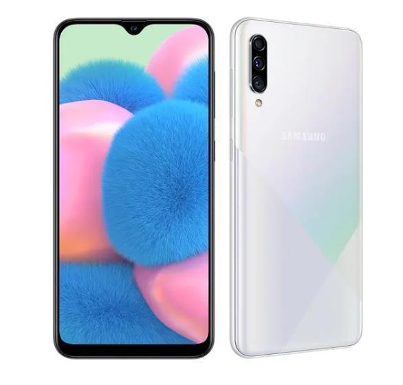 Samsung Galaxy A30s 4GB/64GB White Mobilais Telefons