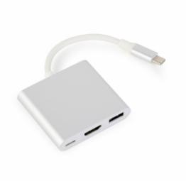 Gembird USB-C to HDMI 8716309112062 USB kabelis