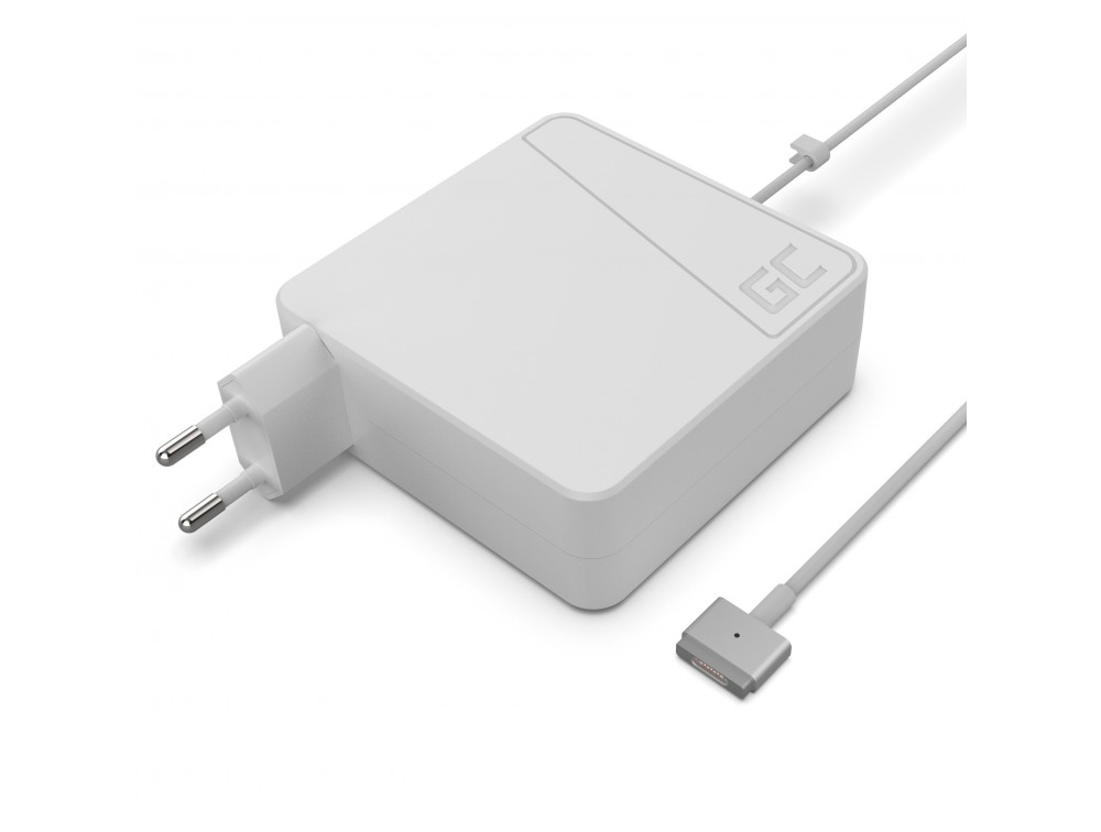 Green Cell for Apple Macbook Air Magsafe2 45W/14.5V/3.1A (fully compatible with 14.85V/3.05A) portatīvo datoru lādētājs