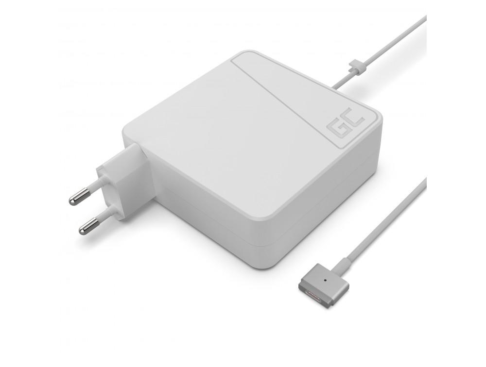 Green Cell for Apple Macbook Pro Retina 13'''' A1425 Magsafe 2 60W/16.5V/3.65A/Magsafe 2 portatīvo datoru lādētājs