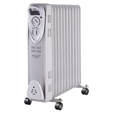 ADLER Eļļas radiators, 11 ribas, 2500W