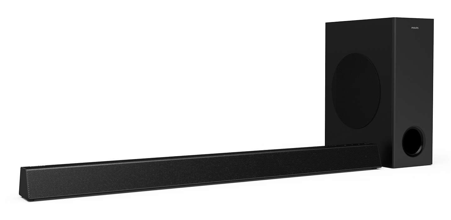 Philips Soundbar speaker HTL3310 2.1 CH wireless subwoofer Dolby Digital HDMI ARC 160W akustiskā sistēma