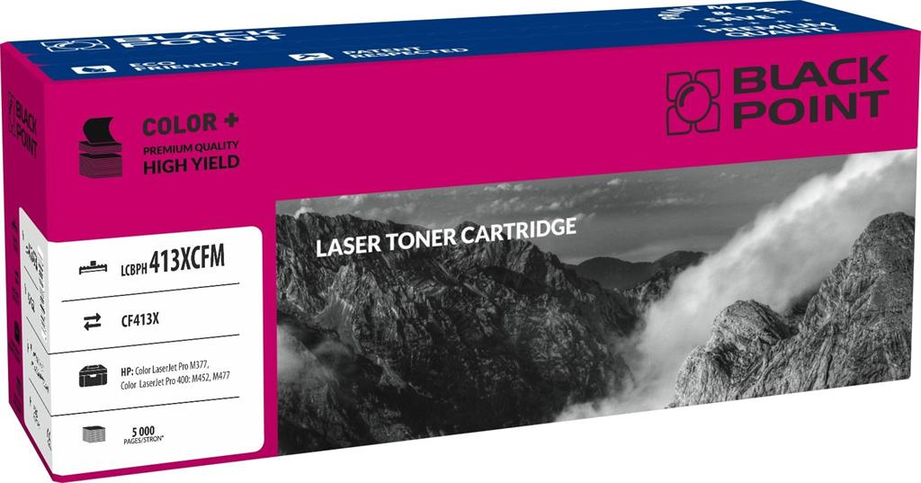 Toner Black Point LCBPH413XCFM | magenta | 5 000 pp | HP M377 / M452 / M477