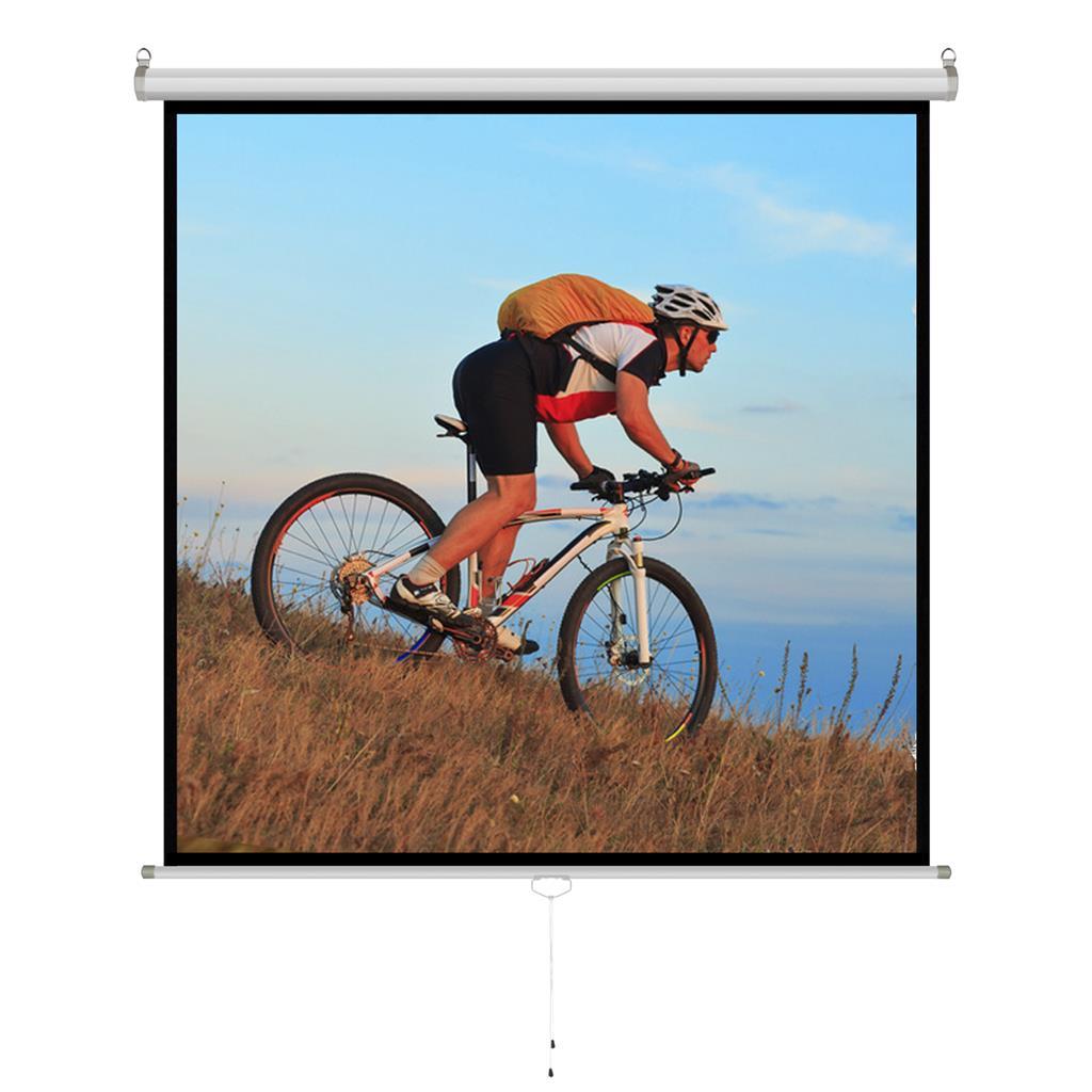 ART Handheld semi-auto. screen 1:1 96'244x244cm ekrāns projektoram