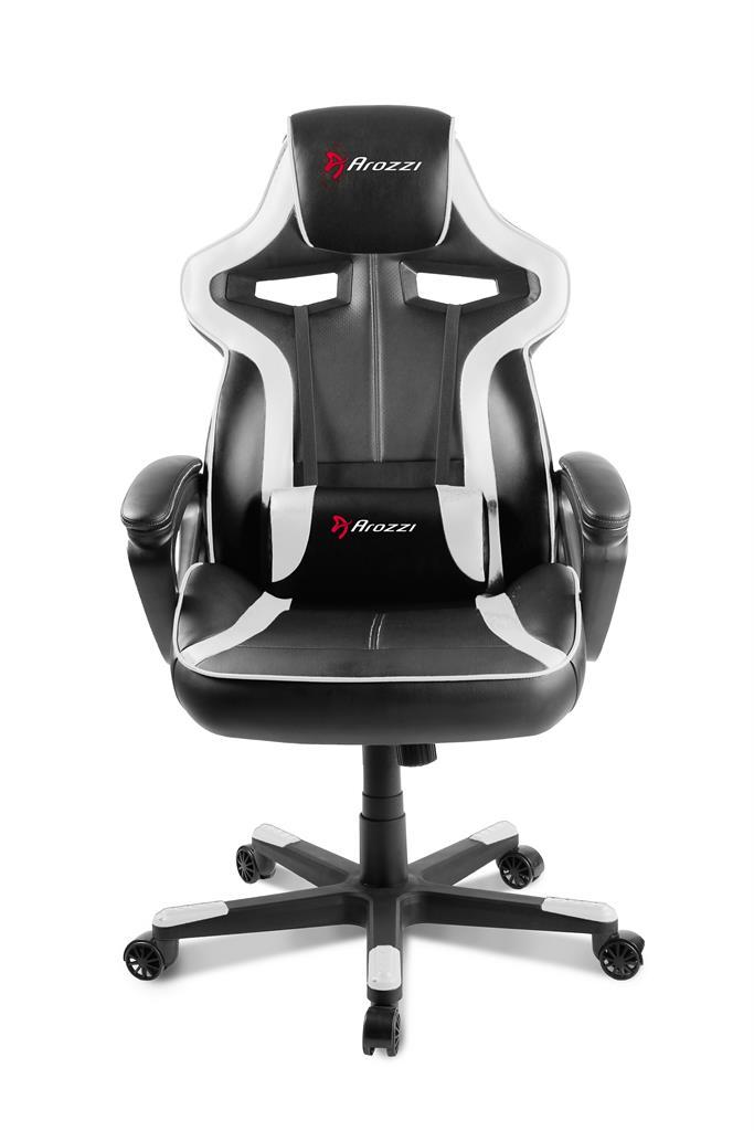 Arozzi Milano Gaming Chair - White datorkrēsls, spēļukrēsls