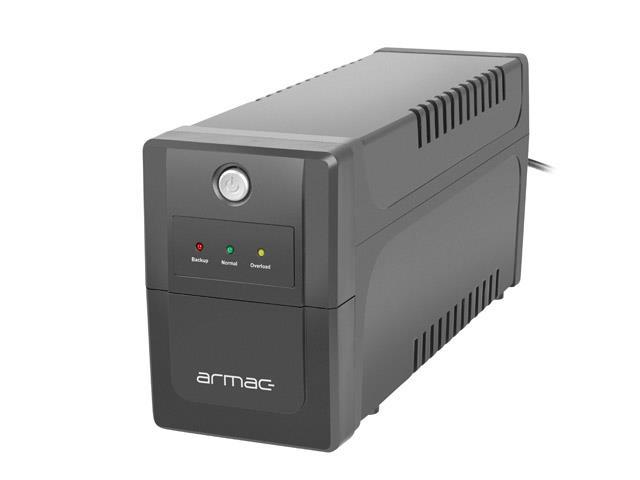 UPS Armac Line-In Home  650E LED 650VA 2x230V P nepārtrauktas barošanas avots UPS