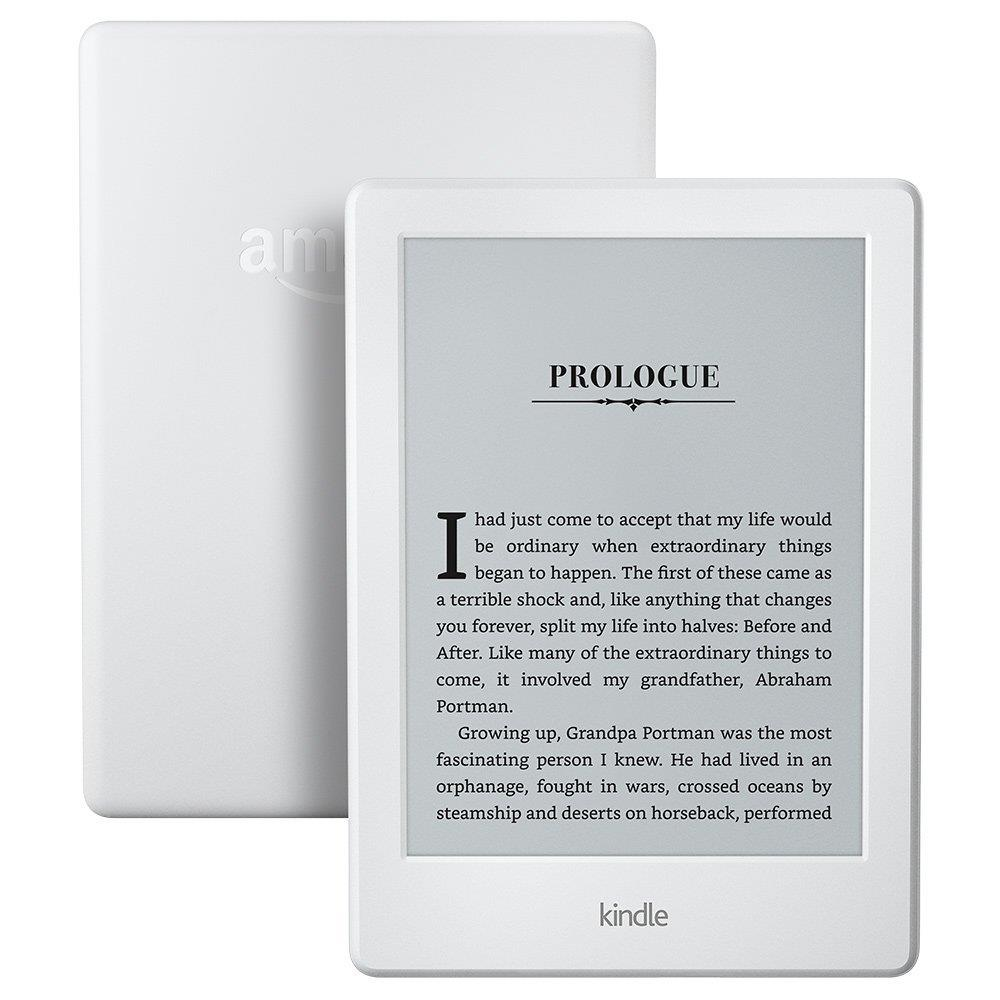 eReader Amazon Kindle 8 touch 6'', WiFi, [Sponsored] white Elektroniskais grāmatu lasītājs