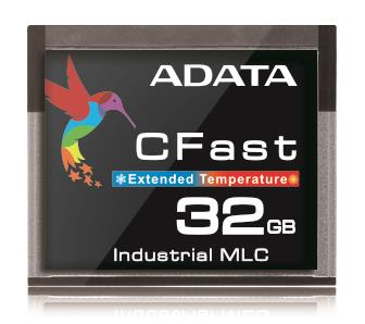 Adata CFast Card 32GB, Wide Temp, MLC, -40 to 85C