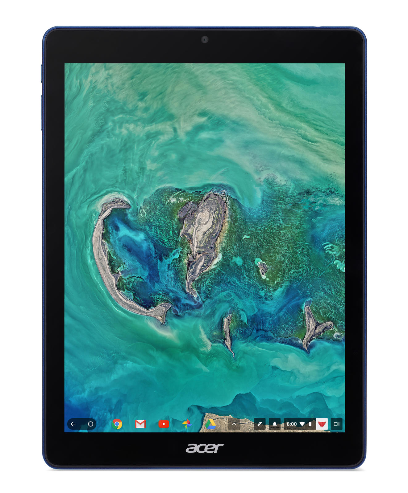 Chromebook Tab 10 D651N-K0PN Tablet RockChip RK3399 32 GB Blau (NX.H0BEG.002) Planšetdators