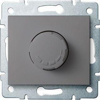 Kanlux DOMO Sciemniacz obrotowy 500W z filtrem srubowy 10AX 250V grafit 011160141 (24905)