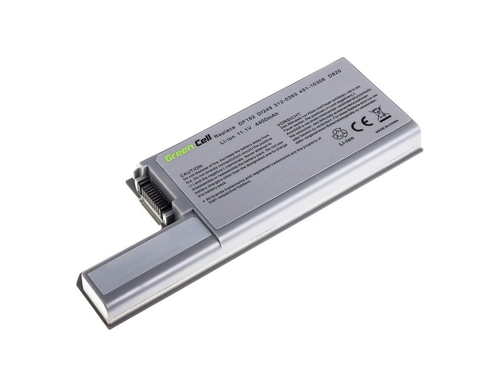 Green Cell Battery for Dell Latitude D531 D531N D820 D830 PP04X / 11,1V 4400mAh akumulators, baterija portatīvajiem datoriem