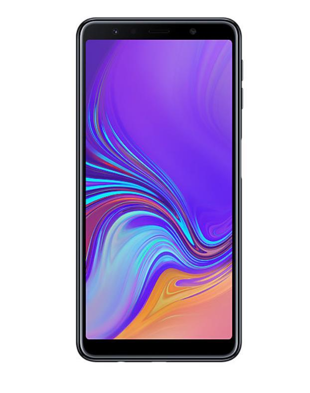 Samsung Galaxy A7 (2018) 4GB/64GB black Mobilais Telefons
