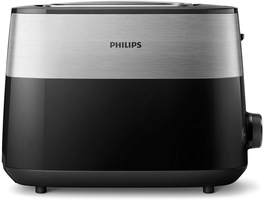 PHILIPS Daily Collection Tosteris, 830 W (melns) HD2515/90 Tosteris
