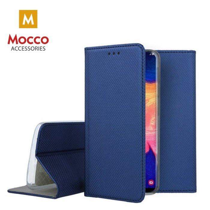 Mocco Smart Magnet Book Case Grāmatveida Maks Telefonam Xiaomi Redmi 8 Zils maciņš, apvalks mobilajam telefonam