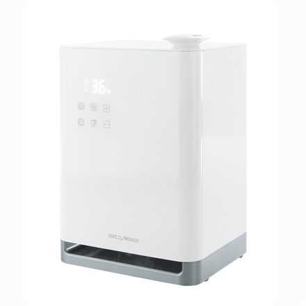 Humidifier Stylies Titan HAU4680 Humidification capacity 400 ml/hr, Suitable for rooms up to 65, 110 W, White Klimata iekārta