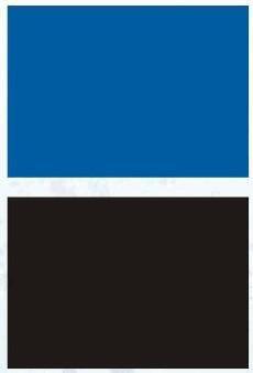 AQUA NOVA TLO S 60X30 BLACK/BLUE VAT007820