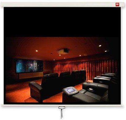 Avtek Wall 4:3 video 175x175 175BT Matt White 1EVS23 ekrāns projektoram