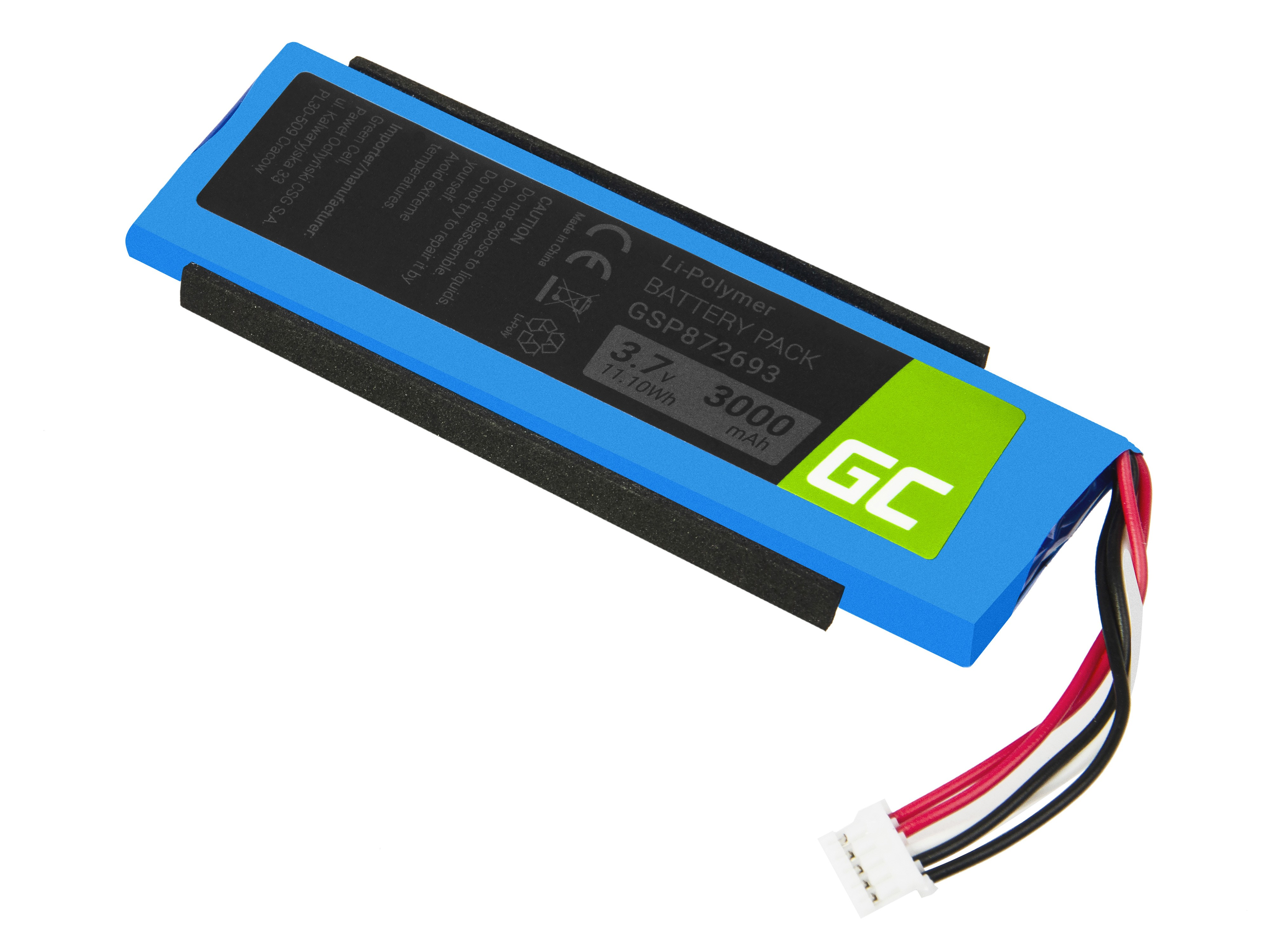 Green Cell for JBL Flip 3 Baterija