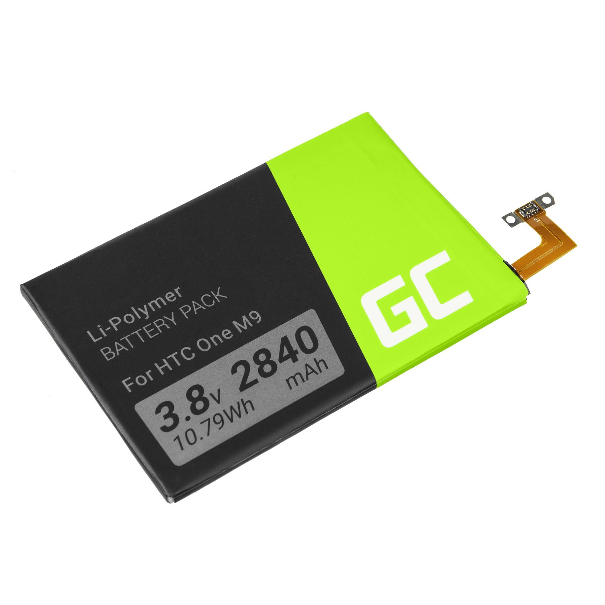 Green Cell B0PGE100 Smartphone Battery for HTC One M9 S9 akumulators, baterija mobilajam telefonam