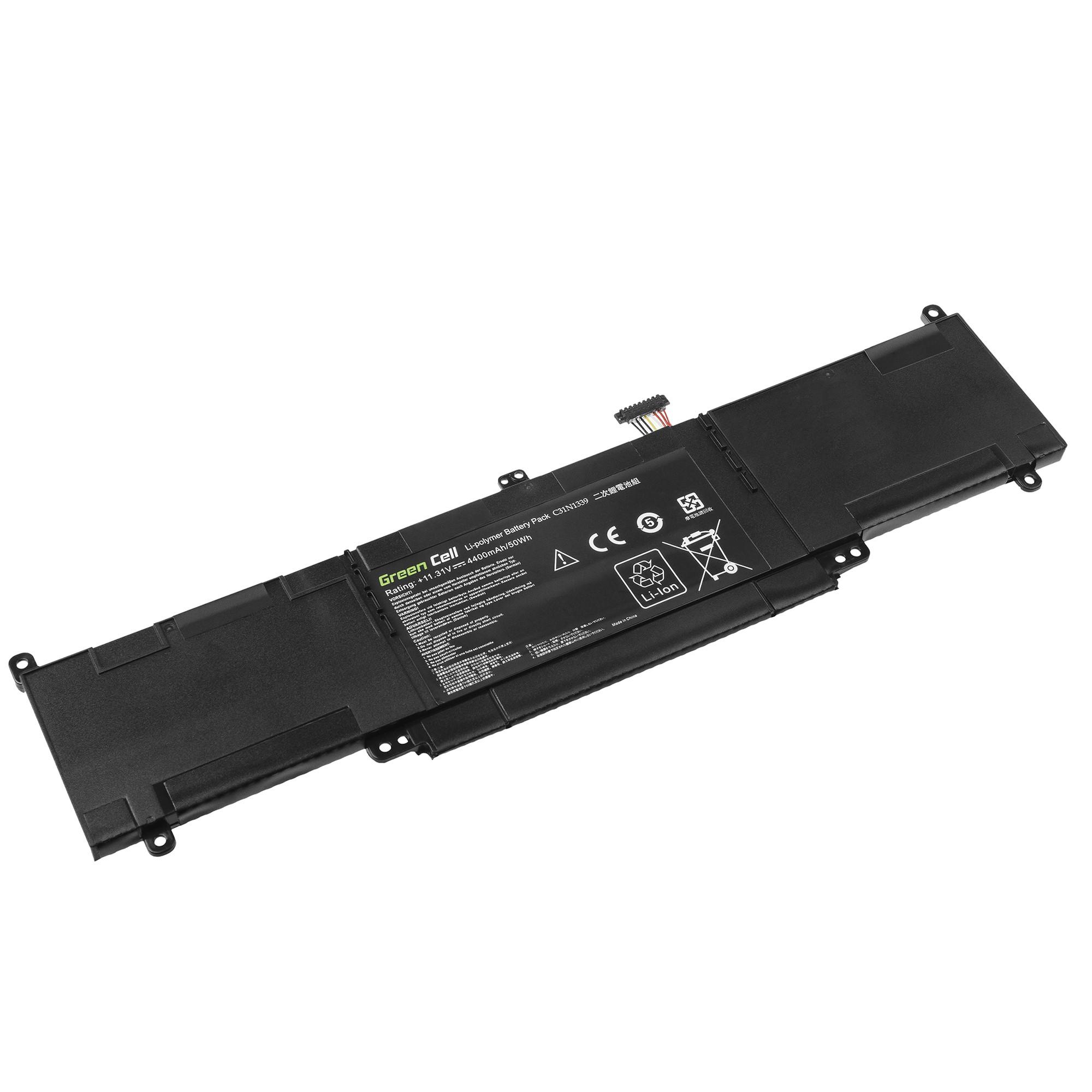 Green Cell C31N1339 Battery for Asus ZenBook UX303 UX303U UX303UA UX303UB UX303L aksesuārs portatīvajiem datoriem