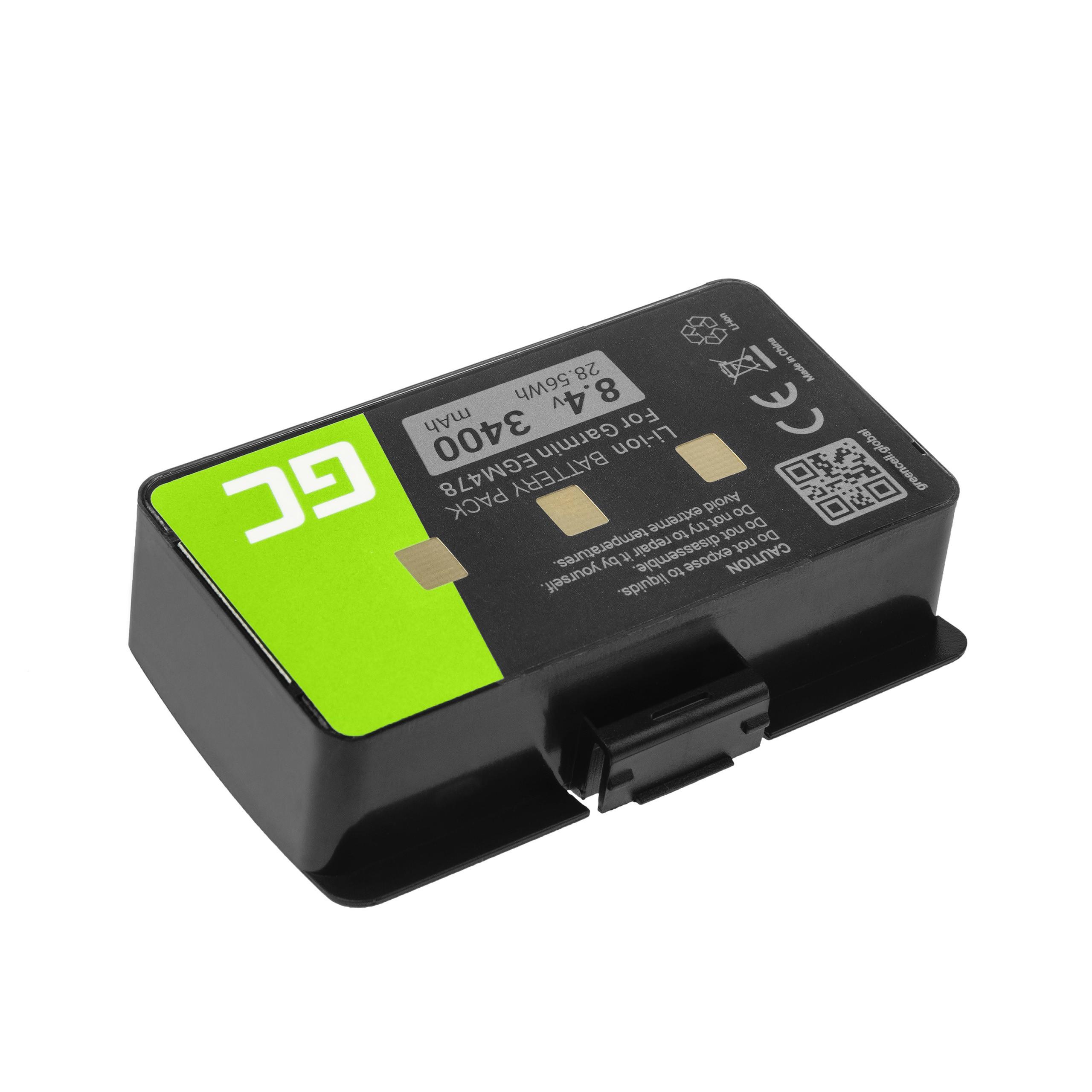 Green Cell 010-10517-00 011-00955-00 GPS battery for Garmin GPSMAP 276 296 376 376c 396 495 496 navigācijas aksesuāri