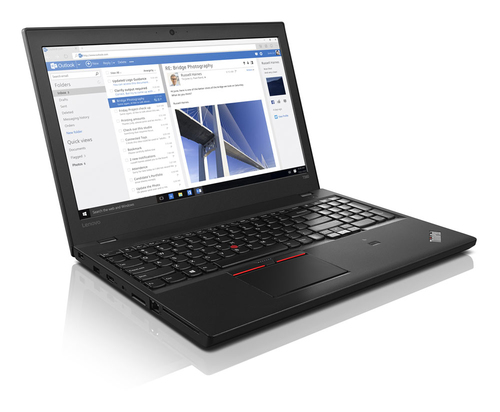 """IZPĀRDOŠANA - Lenovo ThinkPad T560 15""""FHD IPS/i5-6300U/8GB/256GB SSD/Win10 PRO (3 gadu garantija) (soma, pele) Portatīvais dators"""