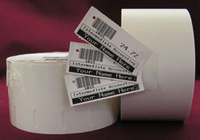 Zebra Label roll, 57x35mm thermal paper, 12 rolls/box 35-800999-009