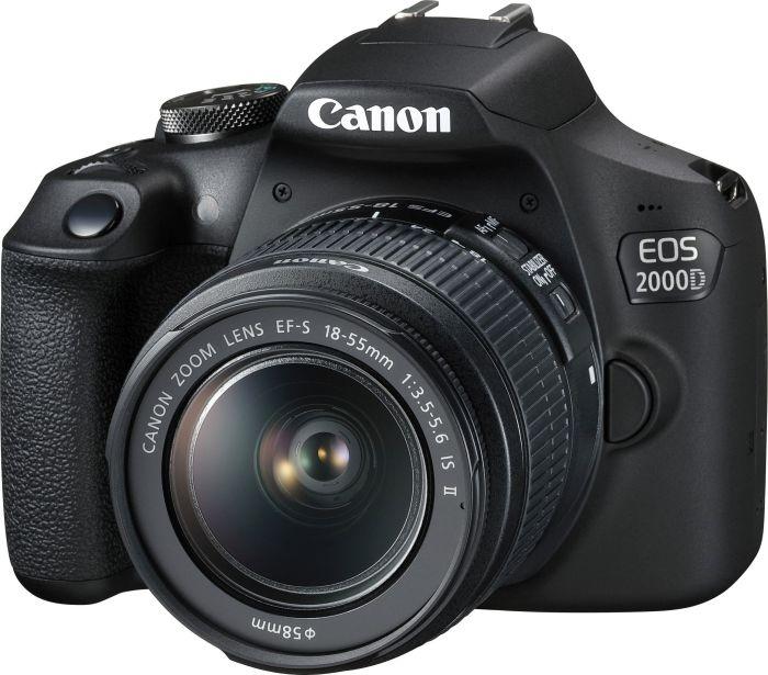 Canon EOS 2000D Kit + EF-S 18-55 IS II Spoguļkamera SLR