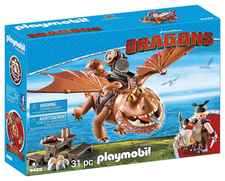 Playmobil Dragons 9460 Fishlegs and Meatlug konstruktors