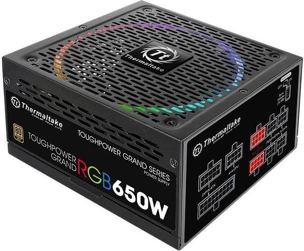 Thermaltake Toughpower Grand RGB 650W Gold Barošanas bloks, PSU