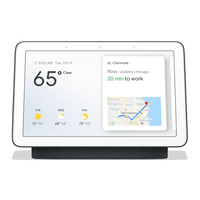Google Home Nest Hub Carbon Smart Assistant datoru skaļruņi
