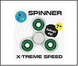 Spinner white Fidget spinner