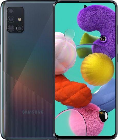 Samsung Galaxy A51 4GB/128GB Black Mobilais Telefons