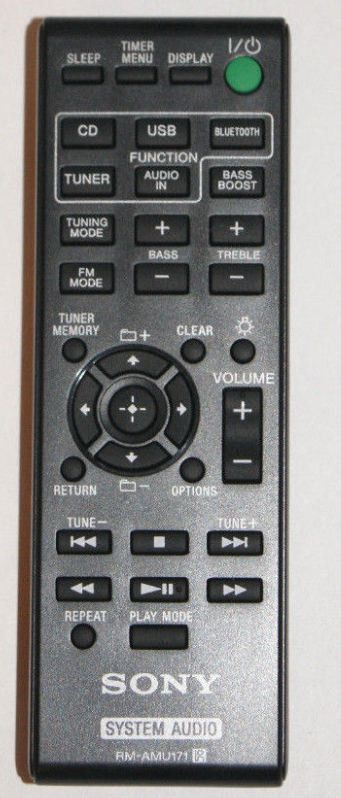 Sony Remote Commander (RM-AMU171) pults