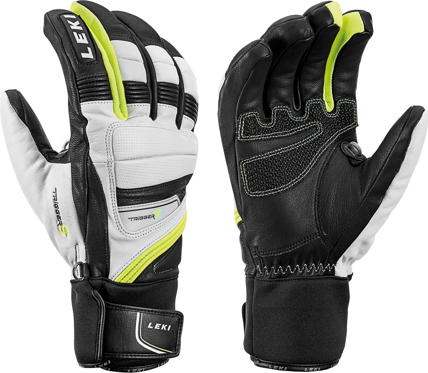 LEKI Ski gloves Griffin Prime S s. 10.0 cimdi