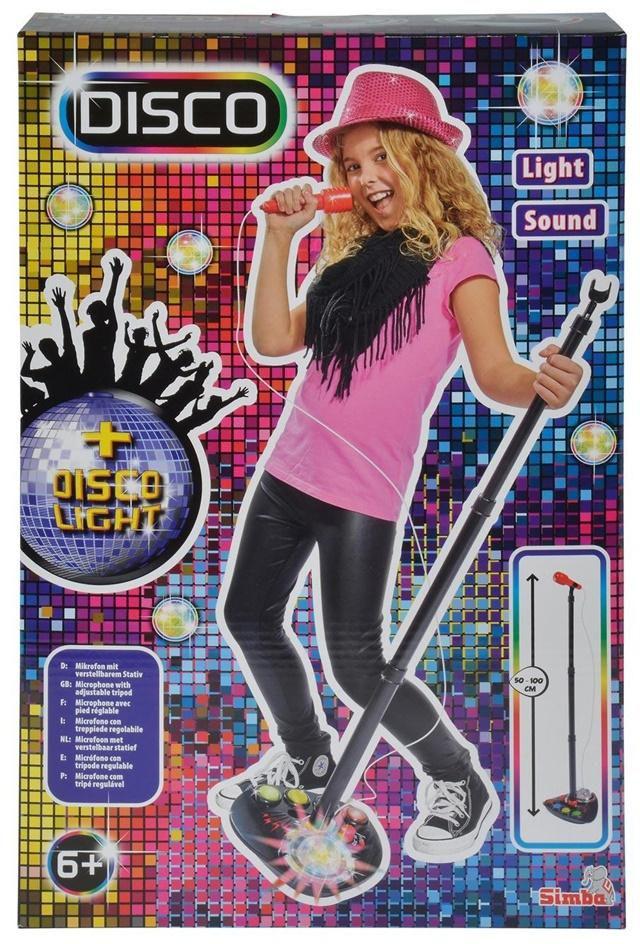 Simba MMW Disco Mikrofon na stojaku - 254043 254043