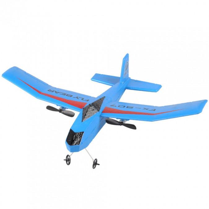 Fly Bear glider 2.4GHz RTF (rozpiętość 31cm) - blue TPC/FX807-BLU