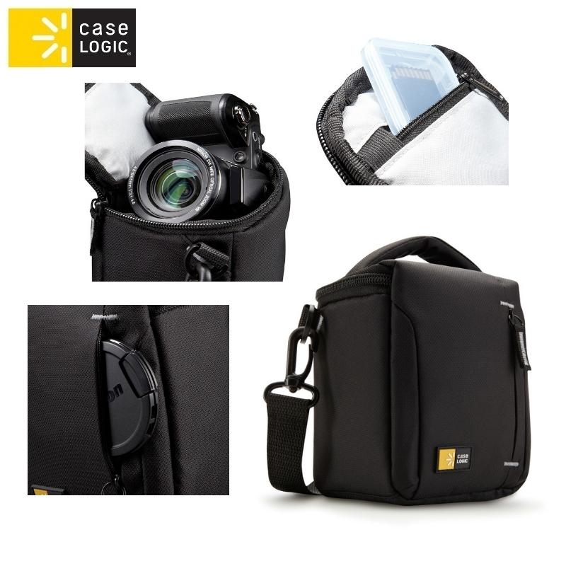 Case Logic TBC404K soma videokamer m vai liel m fotokamer m soma foto, video aksesuāriem