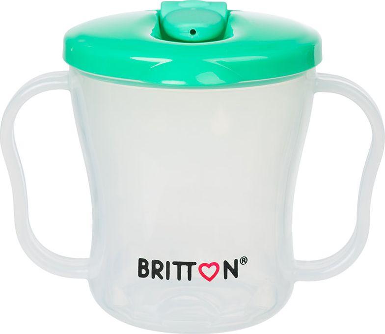 Britton Pirmasis puodelis BRITTON, 200 ml, zalias B1521 aksesuāri bērniem