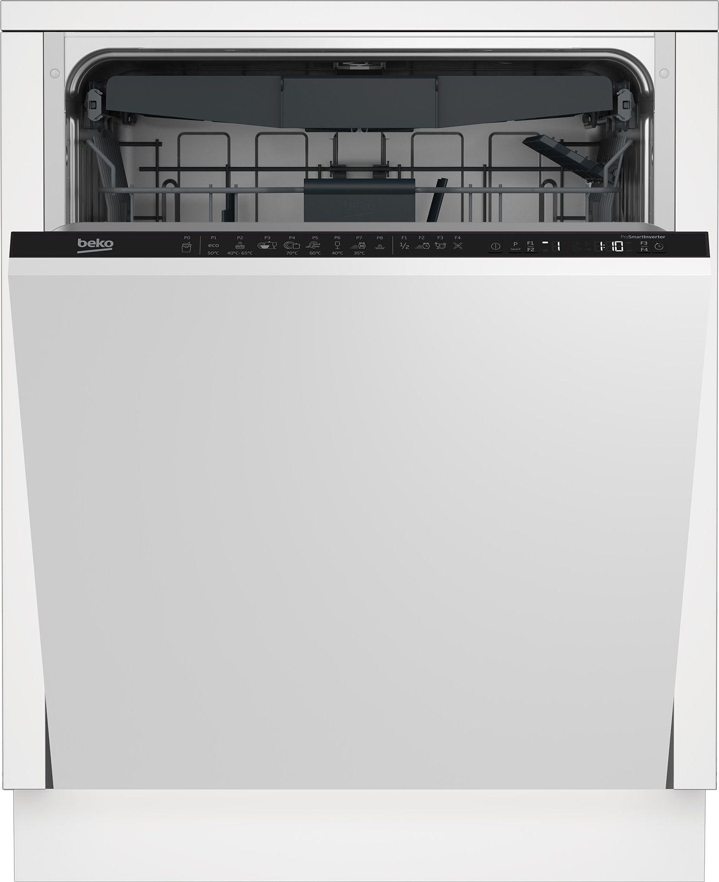 BEKO DIN28430 Iebūvējamā Trauku mazgājamā mašīna