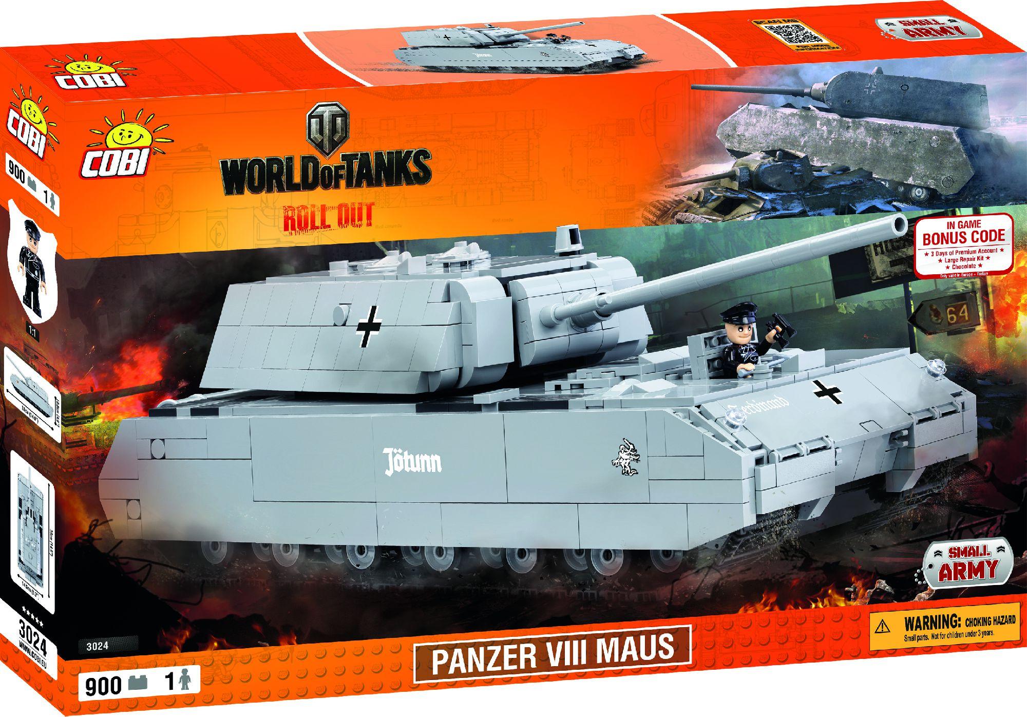 Cobi Small Army World of Tanks SDKFZ (COBI-3024) konstruktors