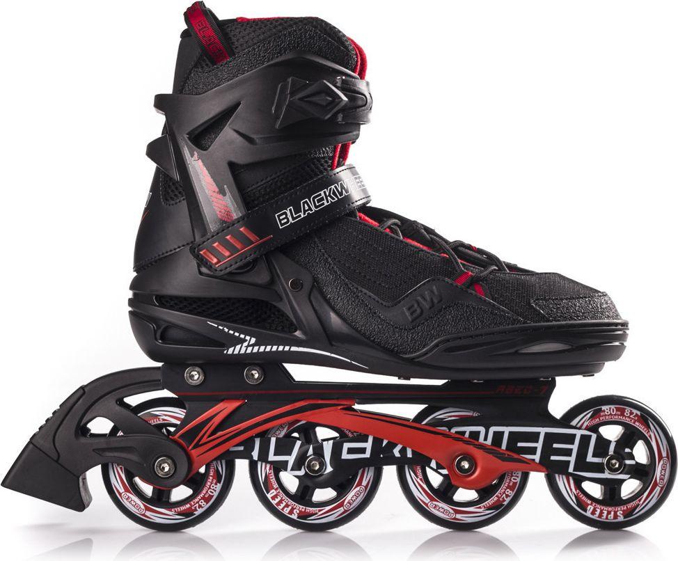 Blackwheels Rollerblades Race black and red. 43 Skrituļslidas