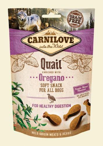 CARNILOVE Przysmak Dog Snack Fresh Soft Quail+Oregano 200g 93082