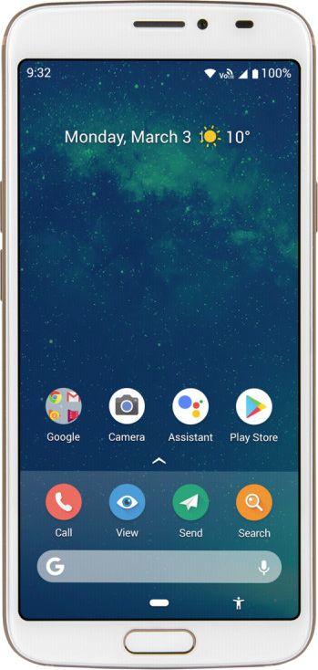 Doro 8080 white Mobilais Telefons