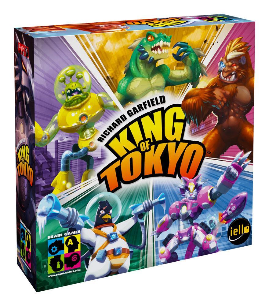 Brain Games King of Tokyo BRG#KOT galda spēle