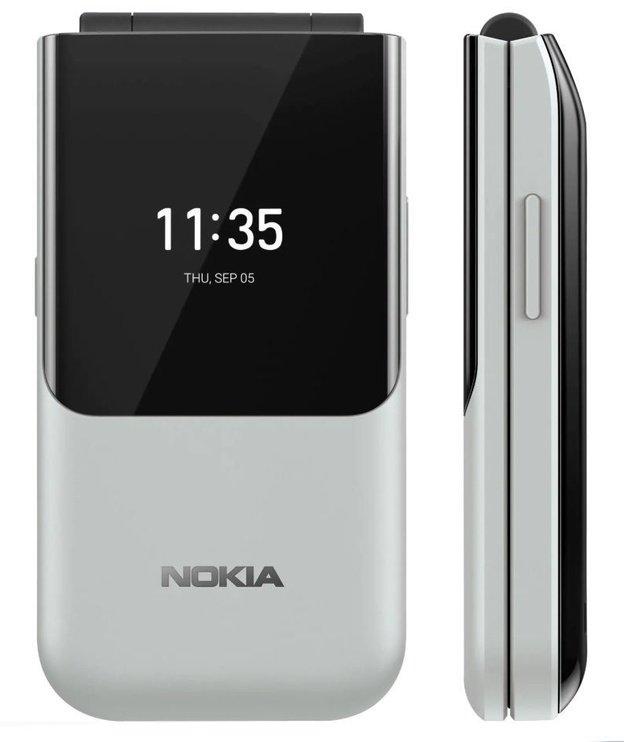 Nokia 2720 Flip grey Mobilais Telefons