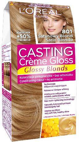 Loreal Casting Creme Gloss Color cream No. 801 Satin Blond