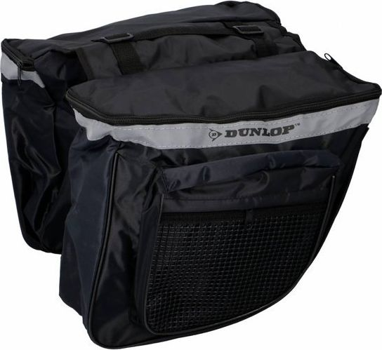 Dunlop Double bicycle bag for the luggage compartment, pannier 26l