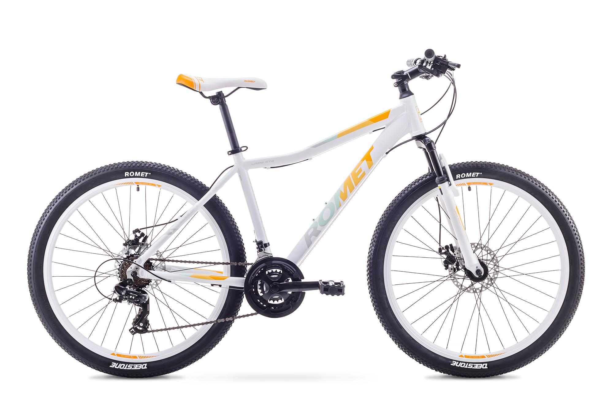 ROMET JOLENE 26 2 BAL/OR (AR) 1826708 17M VELOSIPĒDS kalnu velosipēds MTB