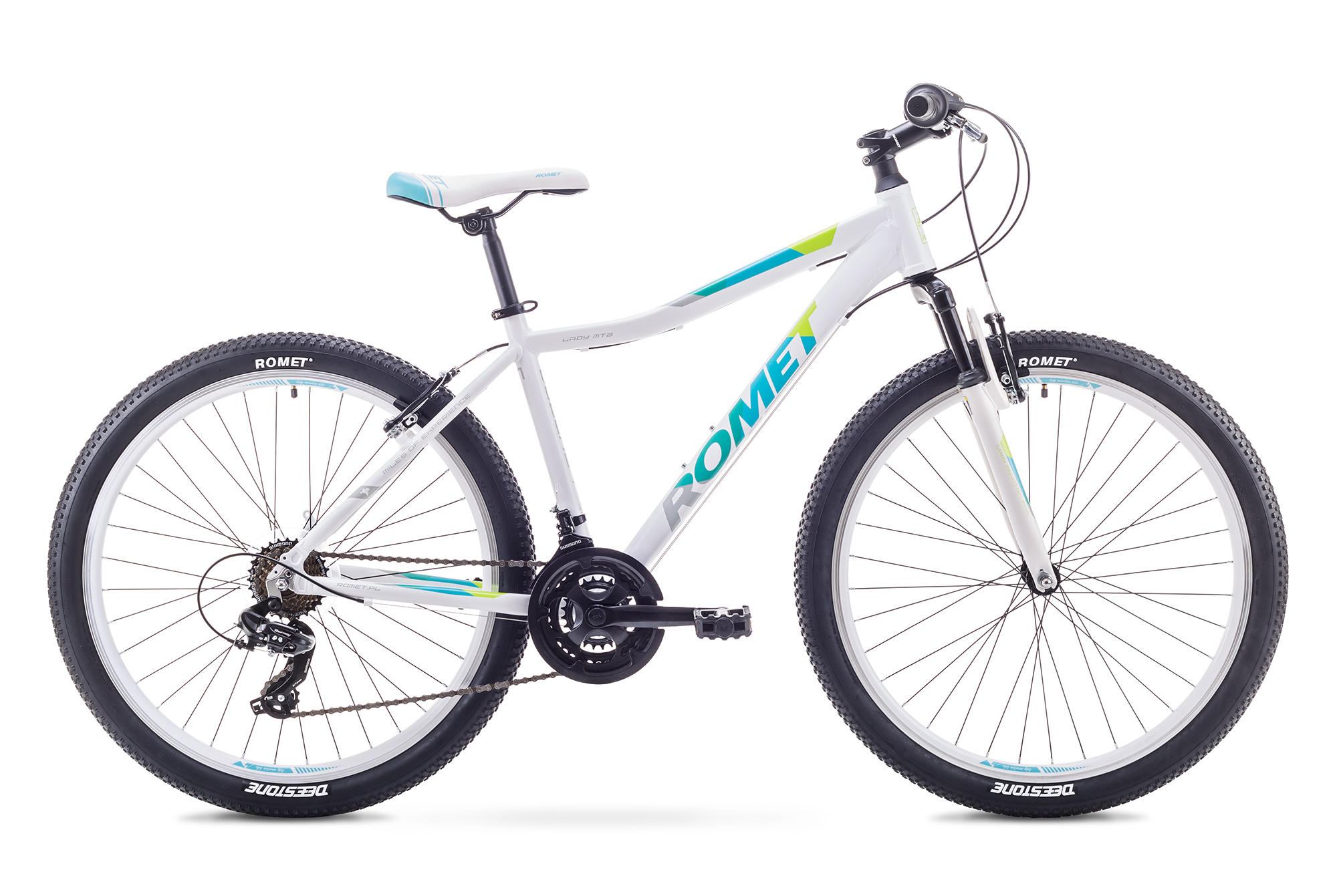 ROMET JOLENE 26 1 (AR) 1826705 19L BAL/ZILS VELOSIPĒDS kalnu velosipēds MTB